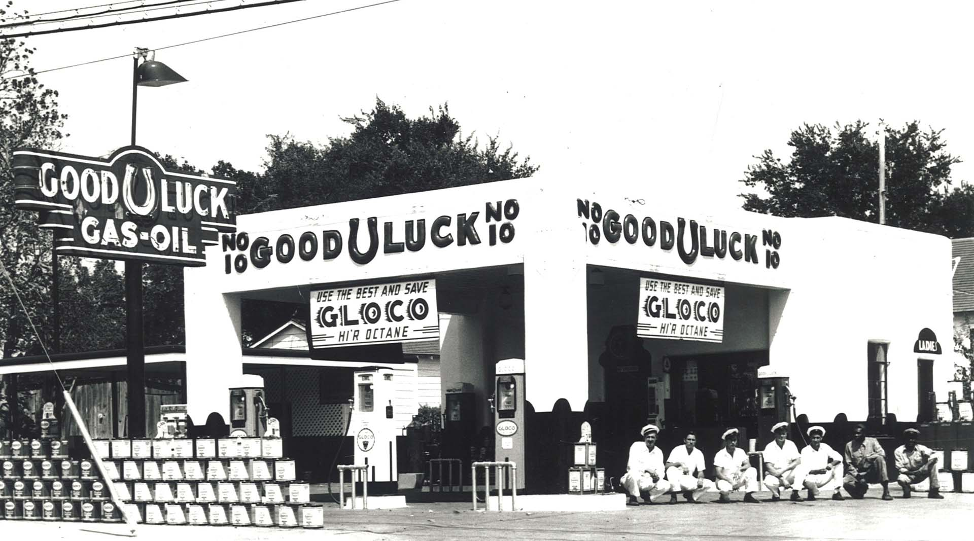 /Home_2_Good_Luck_Oil_Company_Service_GLOCO_Petroleum_Petroliana_Ethyl_Gasoline_Fuel_Signs_Collectables_Store_Museum_History_Dallas_Fort_Worth_Texas_Gas_Drepression_Era_Art_Deco_Architecture.jpg