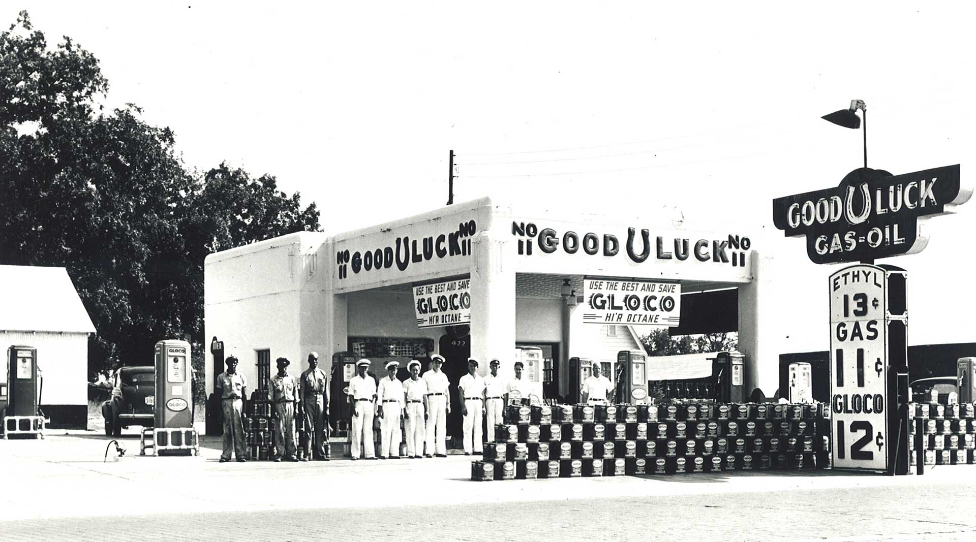 Home_3_Good_Luck_Oil_Company_Service_GLOCO_Petroleum_Petroliana_Ethyl_Gasoline_Fuel_Signs_Collectables_Store_Museum_History_Dallas_Fort_Worth_Texas_Gas_Drepression_Era_Art_Deco_Architecture.jpg